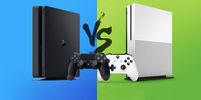 Xbox One S vs PS4 Slim