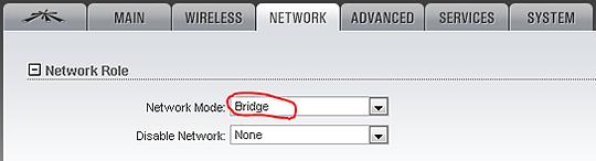 Настройка WI-FI моста