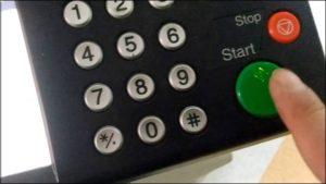 Сброс сообщений Замените МК на принтере Kyocera