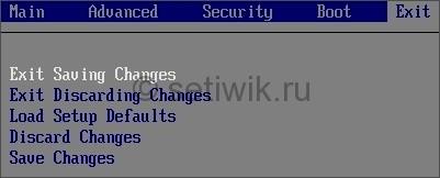 Настройка BIOS для установки Windows с установочного диска