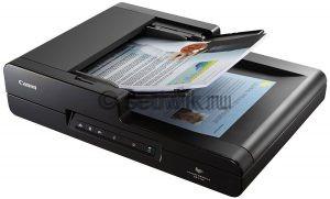 Как сканировать документы на компьютер Сканер Canon dr-F120
