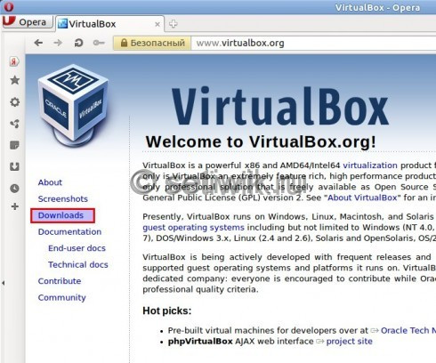 Установка Linux на виртуальную машину VirtualBox