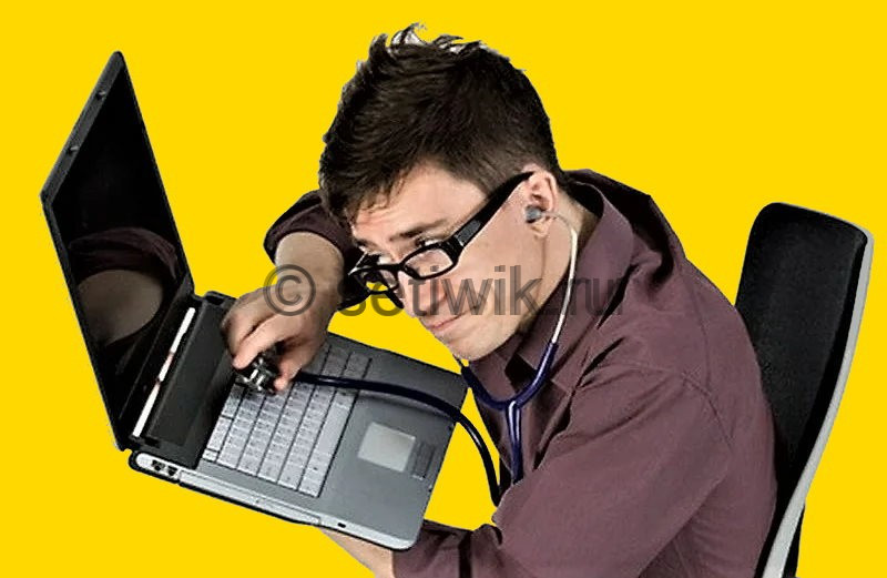 компьютер не подает признаков