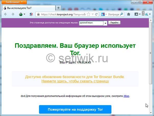 TOR программа для скрытия личности в сети