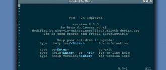 Как установить редактор Vim в системах Linux