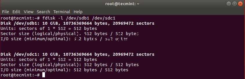 Проверка Клонирования Разделов Linux