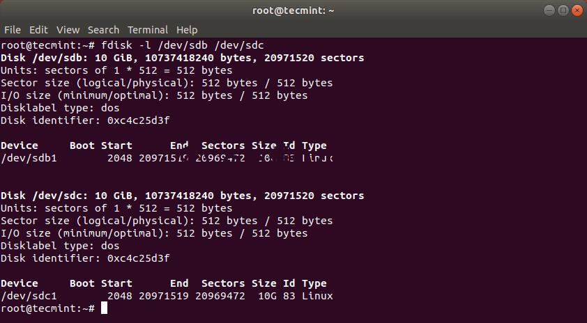 Проверка Клонирования Жесткого Диска Linux