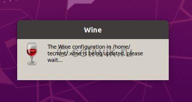 Конфигурация Wine