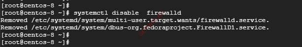 Отключение Firewalld