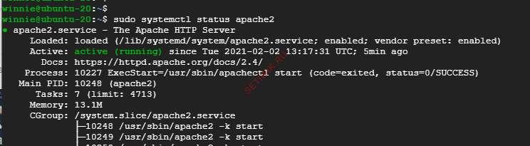 Zabbix установлен в Ubuntu