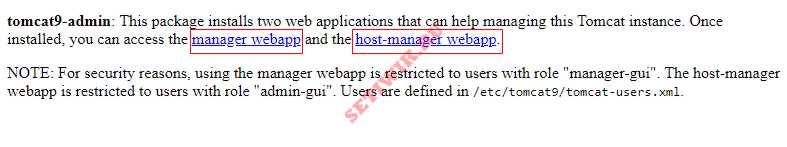 Управление Tomcat через веб-приложение