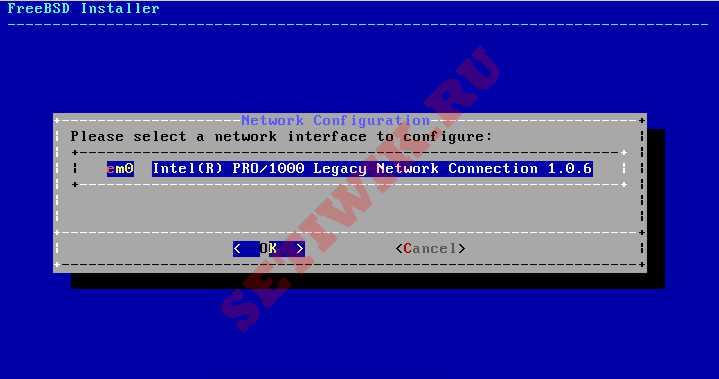 Настройка Сетевых Интерфейсов