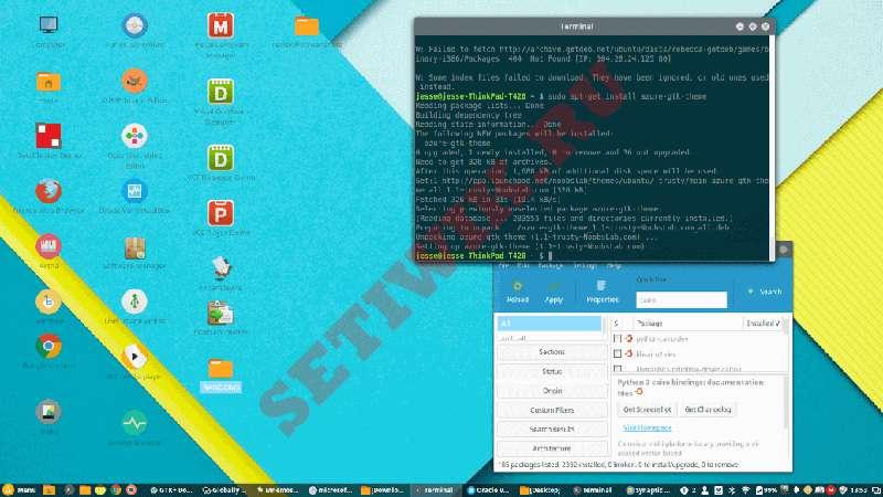 Google Material Theme Linux Mint Cinnamon
