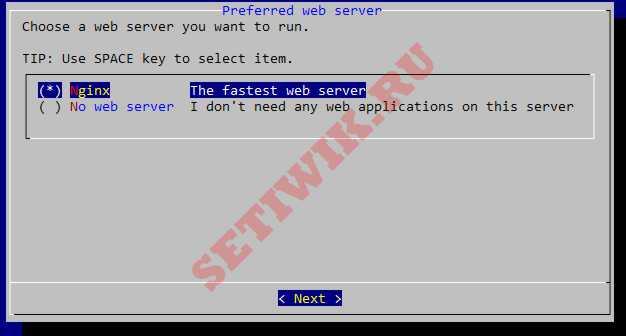 Выбор Nginx в качестве веб-сервера