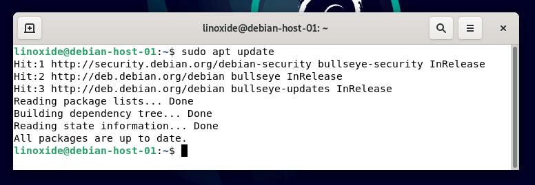 Обновление системы Debian 11 для включения SSH