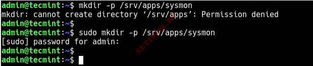 Запуск административных команд с помощью Sudo